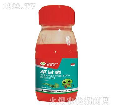 30%草甘膦(200g)-恒金诺