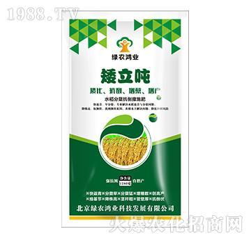 水稻分蘖抗倒撒施肥-矮立吨-绿农鸿业