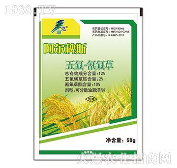 12%五氟・氰氟草-阿尔稗斯-瀚达农化