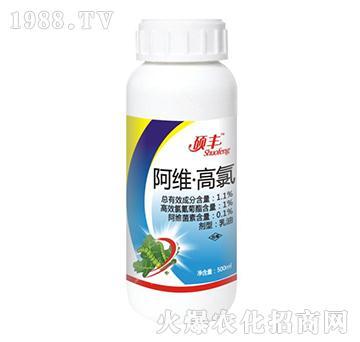 1.1%阿维・高氯-硕丰生物
