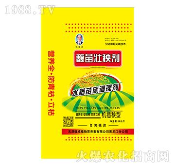 机插秧型水稻苗床调理剂-馥苗壮秧剂-馥成
