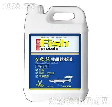 5kg果树专用鱼蛋白生根营养液-金微沃-汉翔生物