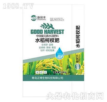 水稻柯杈肥-康保丰-正博生物