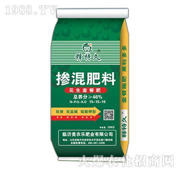 花生套餐肥掺混肥料15
