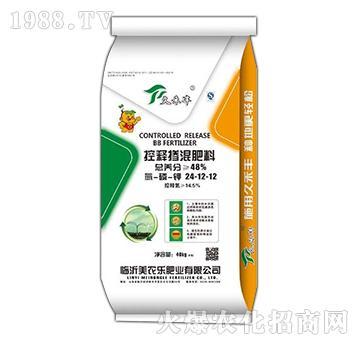 控释掺混肥料24-12-12(40kg)-久禾丰-美农乐