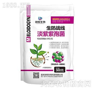 淡紫紫孢菌-生防战区可湿性粉剂-微核生物