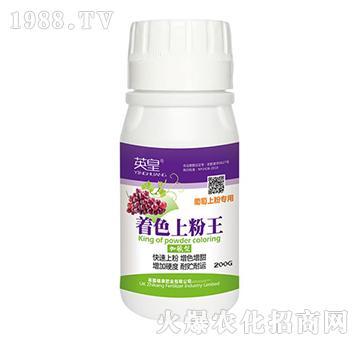 葡萄上粉專用-著色上粉王-植康肥業