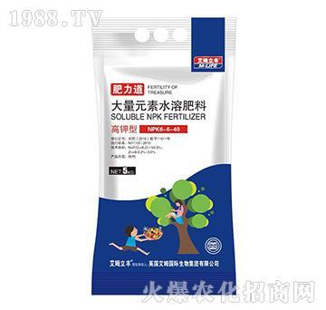 高钾型大量元素水溶肥6-6-40-肥力道-艾姆立丰