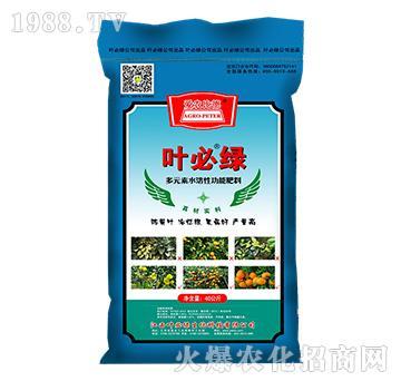 多元素水溶性功能肥料-叶必绿