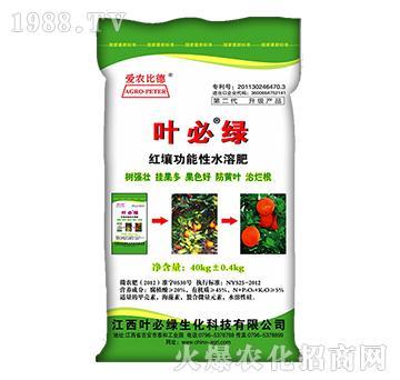 蜜柚专用多元素水溶功能肥-叶必绿