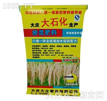六维一体含硫增钾水稻锌