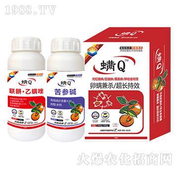 柑橘抗性紅蜘蛛特效-螨Q-吉裕農業