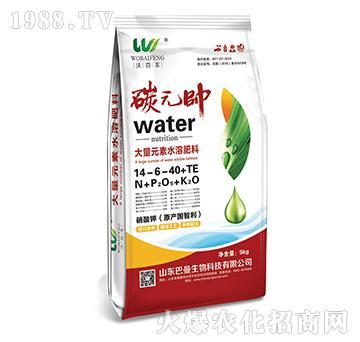 碳元帅大量元素水溶肥14-6-40+TE-沃百丰-巴曼生物