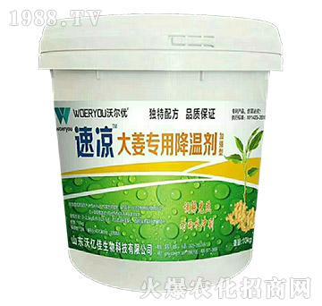 大姜专用降温剂-速凉-沃亿佳