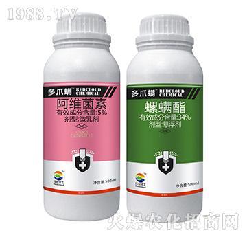 5%阿维菌素+34%螺螨酯-多爪螨-齐盛益农