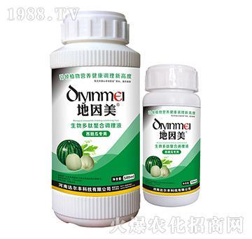 西甜瓜专用-生物多肽螯合调理液-地因美