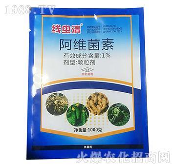 1%阿维菌素-线虫清-绿坤生物