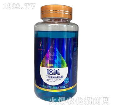 12元素液体复合肥(瓶)-格美-格莱菲克