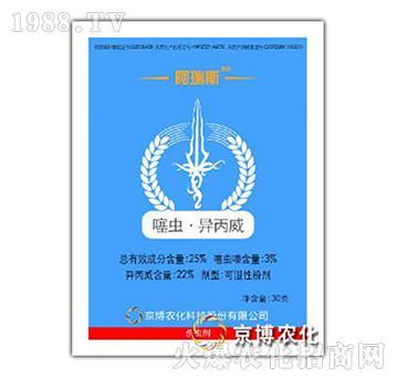 25%噻虫・异丙威-阿瑞斯-京博