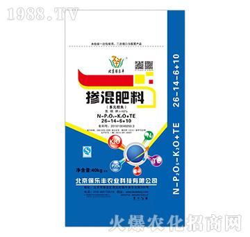 多元控释掺混肥料26-14-6+10TE-保乐丰
