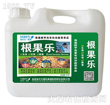 海藻酸甲壳素有机功能营养肥-根果乐-美巴夫