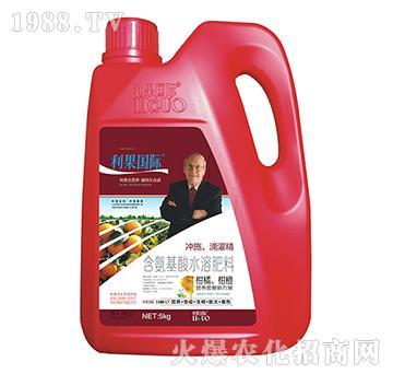 柑橘、柑橙�S煤�氨基酸水溶肥-利果���H