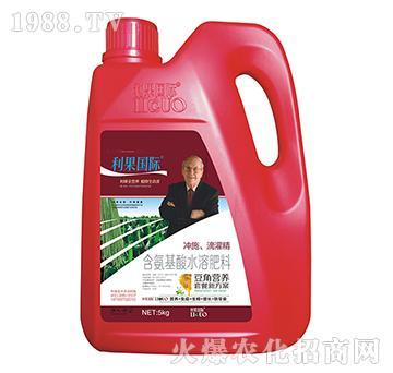 豆角�S煤�氨基酸水溶肥-利果���H