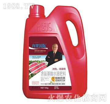 桃��S煤�氨基酸水溶肥-利果���H