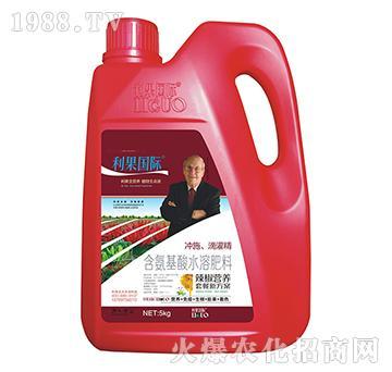 辣椒�S煤�氨基酸水溶肥-利果���H