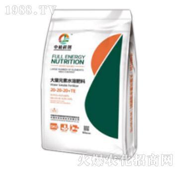 平衡型大量元素水溶肥料20-20-20+TE-中植科创