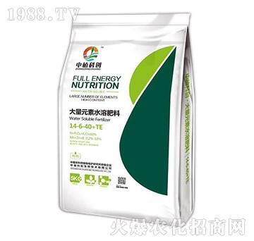 高钾型大量元素水溶肥料14-6-40+TE-中植科创