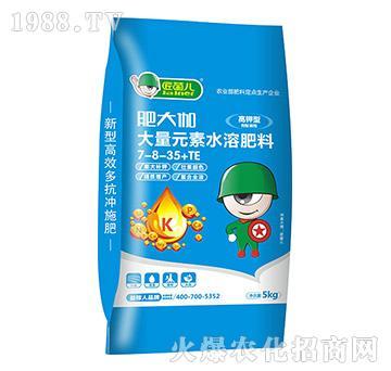 高钾型大量元素水溶肥料-肥大咖-益稼人