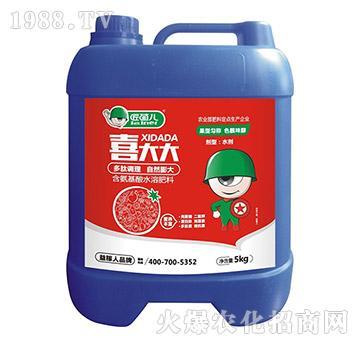 含氨基酸水溶肥料-喜大大-匠菌儿-益稼人
