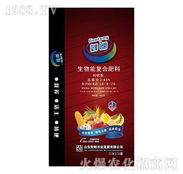 纯硫基生物能复合肥料16-9-20-智朗农业
