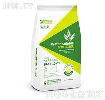 高氮型大量元素水溶肥30-10-10+TE-七嘉农业