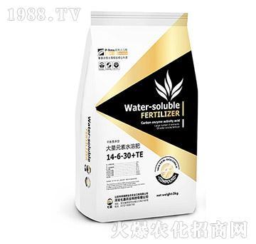 高钾型大量元素水溶肥14-6-30+TE-七嘉农业