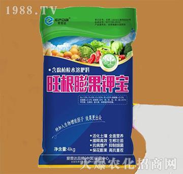 含腐植酸水溶肥-旺根膨果钾宝-昆仑生物