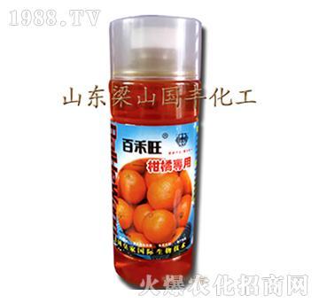柑橘专用叶面肥-梁山国