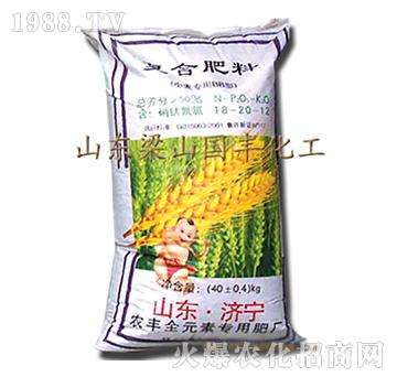 小麦复合肥料18-16-12-梁山国丰