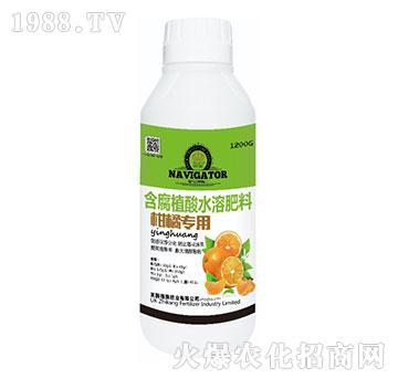 柑橘專用含腐植酸水溶肥料-植康肥業