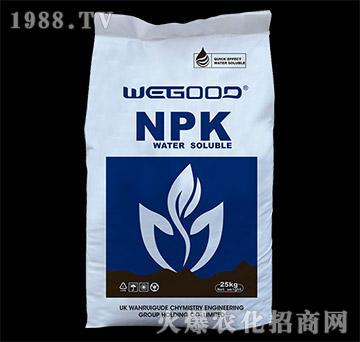 进口大量元素水溶肥20-20-20+TE-万瑞谷德