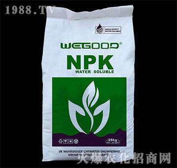 进口大量元素水溶肥20-10-30+TE-万瑞谷德