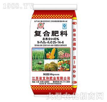 复合肥料25-14-6-支和肥业