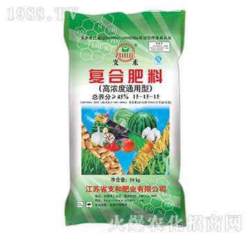 (高浓度通用型)复合肥料15-15-15-支和肥业