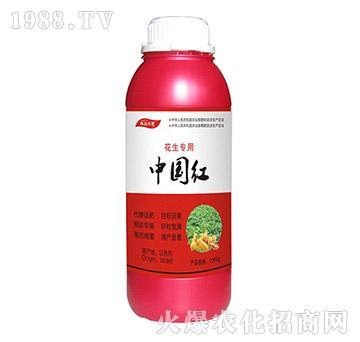 花生专用叶面肥-中国红