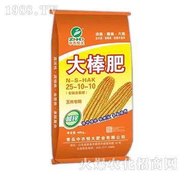 玉米专用大棒肥25-10-10-中农恒大