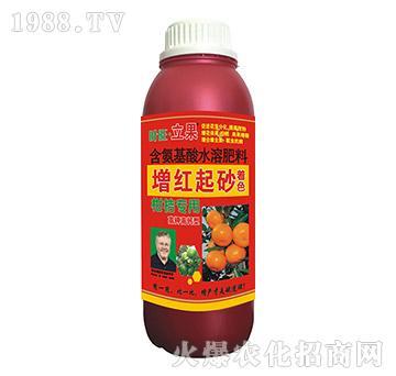 柑桔专用增红起砂着色水