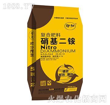 黄腐酸钾型复合肥料(硝基二铵)20-20-10-鄂阳-红太阳
