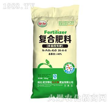 复合肥料26-6-8-鄂阳-红太阳