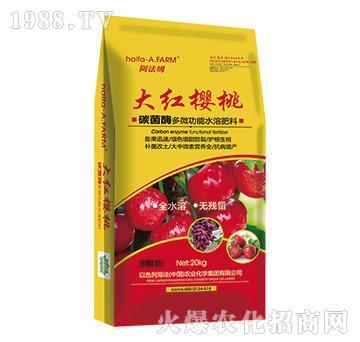 碳菌酶多微功能水溶肥料-大红樱桃-海法